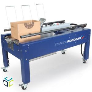 formadora de cajas starbox semiautomatica