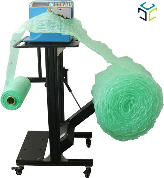 relleno proteccion bolsa aire ecologico compostable spk 7002 rebobinador