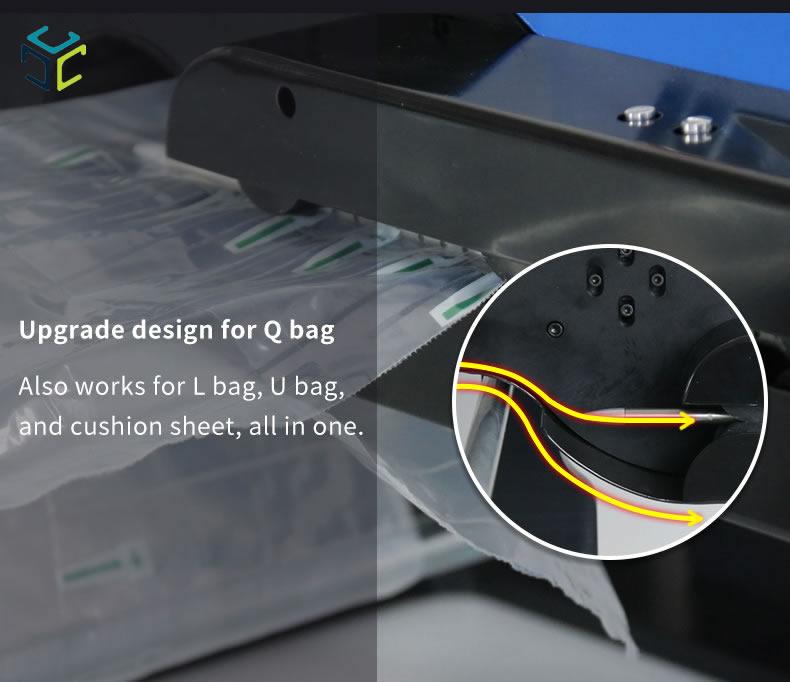 relleno proteccion bolsa aire ecologico compostable spk 7003B