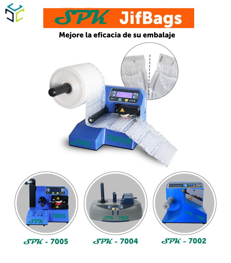 relleno proteccion envoltura burbuja jofbag sobre acolchado spk ecologico